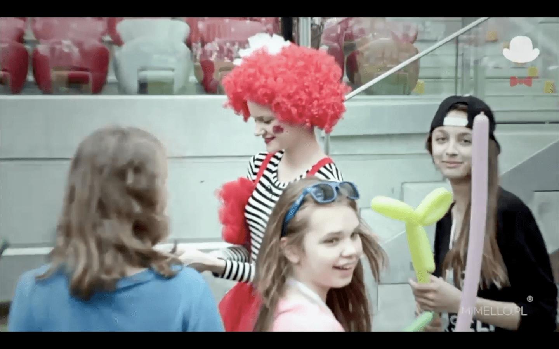 Balonikarz Balonowe zoo Balony Skręcanie Balonów Mimello event impreza firmowa